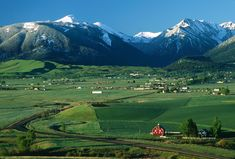 Wallowa valley & Wallowa Mountains (Oregon's Alps)