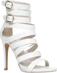 2e435ad060b133 98 Best White Strappy Heels images