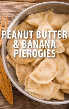 Michael Symon tried to help a groom in a Battle of the Bites with this delicious Peanut Butter and Banana Pierogies Recipe. http://www.recapo.com/the-chew/the-chew-recipes/chew-michael-symons-peanut-butter-banana-pierogies-recipe/