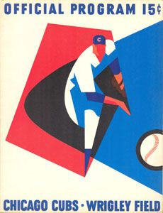Chicago Cubs 1965.I like this graphic design.