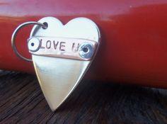 Sweet 16 Daughter New Driver Gift Love Keychain for Mom Heart Key Chain Her Personalized Keyring Teen Men Women Boyfriend Girlfriend Husband