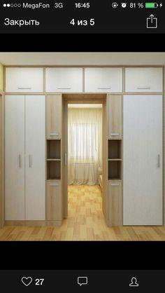 Интерьер шкаф