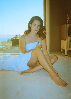 Lana Del Rey / Maxim December Issue, Photograph by Neil Krug