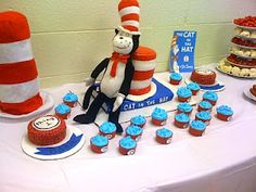 My twins Cat in the Hat birthday Party