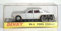Dinky 164 ford #zodiac mk 4 car #silver #c1966 nmib,  View more on the LINK: http://www.zeppy.io/product/gb/2/252609280010/