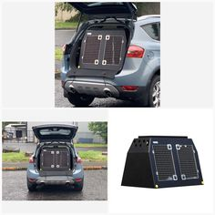 Ford Kuga (2008 - 2012) Dog Car Travel Crate- The DT 7 About the Ford Kuga (2008 - 2012) Dog Car Travel Crate- The DT 7 The DT 7 is a great box for medium sized SUV's such as the Ford Kuga with enough room for two small or medium sized dogs or one large dog. The Ford Kuga is particularly popular with larger families. It is adequately priced with impressive practicality, but it can also be much more than that. It is the ideal car for families that travel with their dogs. It comes with a… Medium Sized Dogs, Medium Dogs, Dog Travel Accessories, Pet Vet, Dog Crates, Stainless Steel Doors, Dog Car, Car Travel, Large Dogs