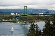 Stanley park Vancouver bridge - Just an idea