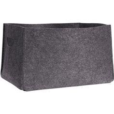 H&M Felt storage basket (€14) ❤ liked on Polyvore