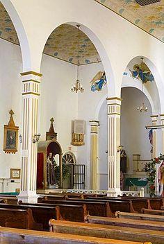 San Elizario Mission, El Paso, Texas, United States of America, North America