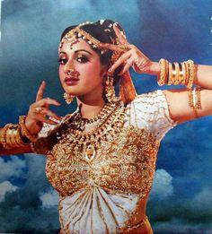 Sridevi- the dancer Vintage Bollywood, Indian Bollywood, Bollywood Cinema, Bollywood Actress, Sneha Reddy, Nose Jewels, Indiana, Monsoon Wedding, The Dancer