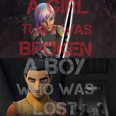 """""""A Boy Who Was Lost And A Girl Who Was Broken."""" -Hera"""