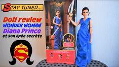 Doll review 121 : Barbie Wonder Woman Diana Prince et son épée secrète 🗡👗🗡 Barbie, Wonder Woman, Dolls, Music, Youtube, Princess Diana, Baby Dolls, Musica, Musik