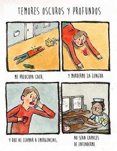 Temores oscuros y profundos. #humor #risa #graciosas #chistosas #divertidas