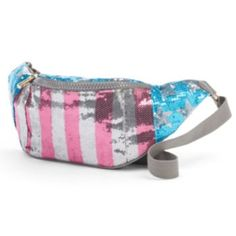 Juicy Couture American Flag Sequin Fanny Pack