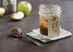slow cooker apple butter - put into jars and decorate w/pretty tags for Christmas gifts for neighbors/coworkers/etc