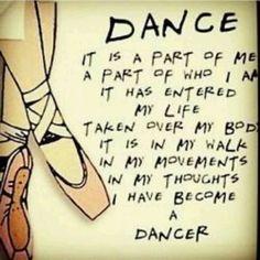 Maybe you aren't a dance but what have you become??