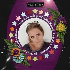 Make Up - digital scrapbook layout I created using Oh the Drama Grab Bag by Across the Pond {Mandy King & Seatrout Scraps} at Gingerscraps and GottaPixel. I love the templates, the great papers and lovely theatre themed elements and great flowers in this grabbag.