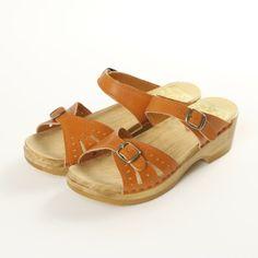 2 Buckle Sandal Front Strap Clogs   Sven Comfort Shoes