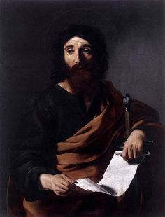 Be transformed by the renewing of your mind - Contemplative Homeschool. (Picture: St. Paul by Tournier)