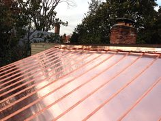 copper roof flashing