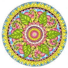 Is Coloring the New Meditation?- Coloring mandalas is a form of active mediation. Active meditation incorporates both movement and silence, unlike passive meditation, which allows your mind to become still. Mandala Art, Mandala Design, Mandalas Drawing, Crochet Mandala, Zentangles, Celtic Mandala, Vishuddha Chakra, Art Gallery, Art Graphique