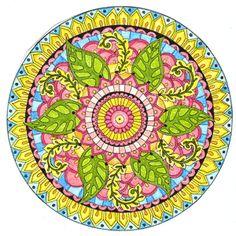 """estos días visitando blogs he visto muchos """"mandala"""" realizados en crochet y como soy muy """"monkey see, monkey do"""" pues ayer me puse a tejer uno. La técnica que yo uso para …"""