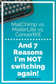 MailerLite is free to start but has advanced features like ConvertKit. I switched from MailChimp to MailerLite. Here are 7 reasons I'm not switching again.