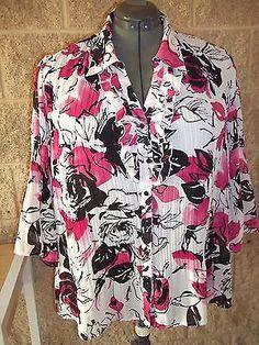 NWOT Ladies Size 18/20W 1X Fashion Bug Blouse Top   eBay