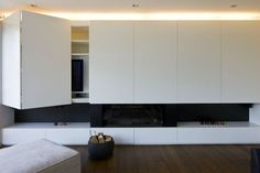 Lounge cabinetry and fireplace Living Tv, Living Room Tv Unit, Kitchen Living, Interior Design Living Room, Home And Living, Living Room Designs, Living Rooms, Fireplace Tv Wall, Modern Fireplace
