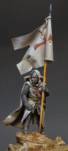 Templar 54 mm miniature