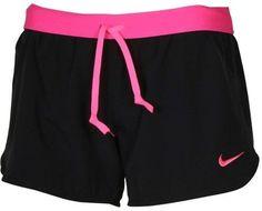 Nike Women's Dri-Fit Phantom 2-In-1 Training Shorts-Black/ Hot Pink-Large