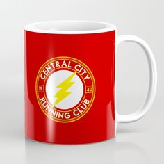 The Flash Central City Running Club Mug ~ $15 ~ Christmas Gift Ideas!