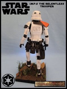 I.M.P.S The Relentless Trooper (Star Wars) Custom Action Figure