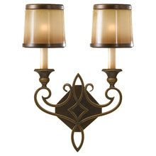View the Murray Feiss WB1473 Justine 2 Light Wall Sconce at LightingDirect.com.