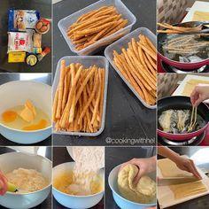 Food N, Food And Drink, Cookie Recipes, Dessert Recipes, Desserts, Malaysian Dessert, Indonesian Food, Easy Snacks, Clean Eating Snacks