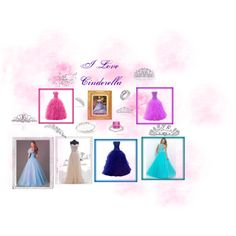 CINDERELLA Look by paty-polyvore on Polyvore featuring Ippolita, Bling Jewelry, Polaroid and wishesbridal