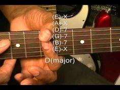 Guitar Chord Form Tutorial #192 R&B Blues Rock Chord Forms EricBlackmonM...