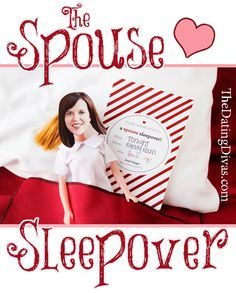 Spouse Sleepover...need to remember this for a night when I don't have work and we don't have to get up early the next morning