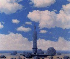 Рене Магритт -  Souvenir from travels   - Открыть в полный размер