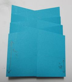 "Nice Step-by-Step Cascade Card Tutorial by My ""Crafty"" Life on the Internet: Cascade Card Tutorial"