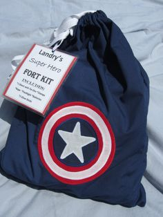 Imagination Super Hero Fort Kit II by ThreeTinyTurtles on Etsy, $49.00