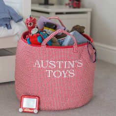 Are you interested in our toy storage fabric baskets? With our soft storage bags you need look no further. Soft Toy Storage, Toy Storage Baskets, Kids Storage, Fabric Storage, Craft Storage, Bag Storage, Belly Basket, Gender Neutral Colors, Toy Basket