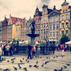 Fontanna Neptuna w Gdańsk, Województwo pomorskie