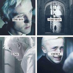Мальчик, у которого не было выбора. #HarryPotter