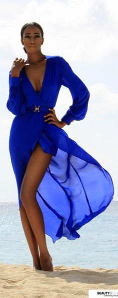 """Beautiful fashion in blue--Cobalt and Royale Blue Wardrobe Wishes  (^.^) Thanks, Pinterest Pinners, for stopping by, viewing, re-pinning, & following my boards. Have a beautiful day! ❁❁❁ and""""Feel free to share on Pinterest ^..^   #fashionupdates  #fashionandclothingblog *•.¸♡¸.•**"""