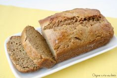 Better For You Banana Bread - Organic Is The New Black | Wholesome ingredients like whole wheat flour, bananas, yogurt and applesauce!