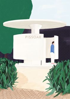 Oscar Grønner - Pissoar  For sale at www.masterverk.se