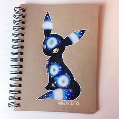 Here's Umbreon. I was too into this & catching up on supergirl that I didn't get the chance to take a progress photo. Haha But here's the finished drawing of Umbreon. I hope you guys like it! Pokemon Fan Art, Gif Pokemon, Pokemon Eeveelutions, Eevee Evolutions, Pokemon Cards, Pokemon Fusion, Cute Animal Drawings, Cute Drawings, Pokémon Kawaii