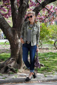 glam4you - nati vozza - look - spring - parka - new york - look do dia - jeans - slipper - balenciaga