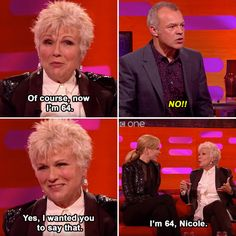 When she definitely wasn't fishing for compliments. | 17 Times Julie Walters Proved She's The True Queen Of Britain